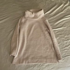 Sand Colored Beige Loft Turtleneck